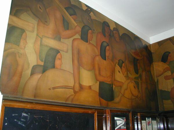 History of california mural for California mural