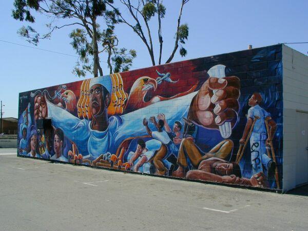 medicare 78 mural On eazy e mural compton
