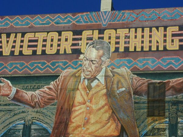 Pope of broadway mural for Anthony quinn mural