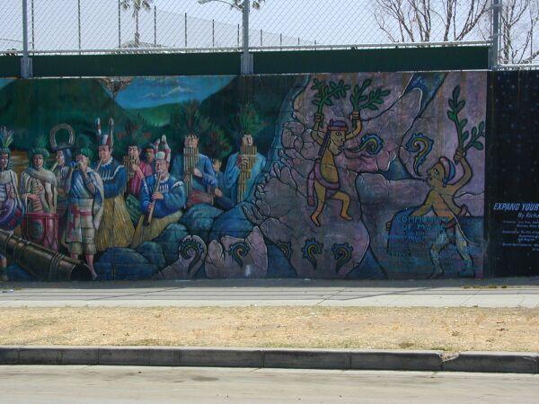 Community of music mural for Community mural