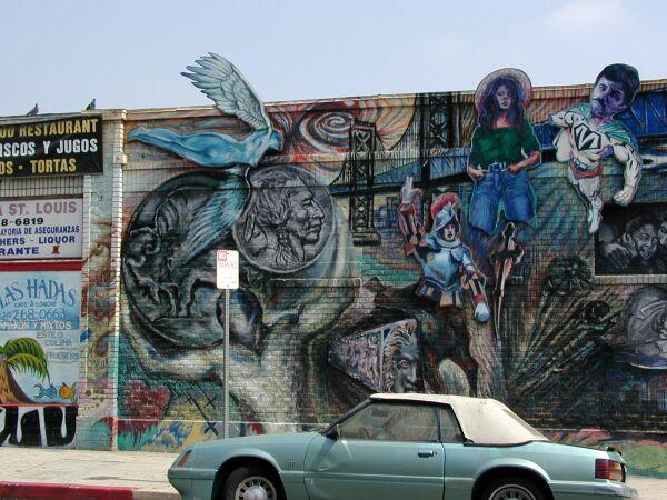 Bridges to East L.A. mural