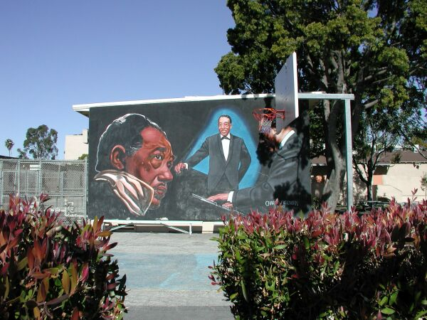 Duke ellington mural for Duke ellington mural