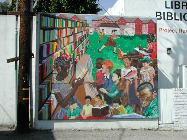 Education mural for Education mural