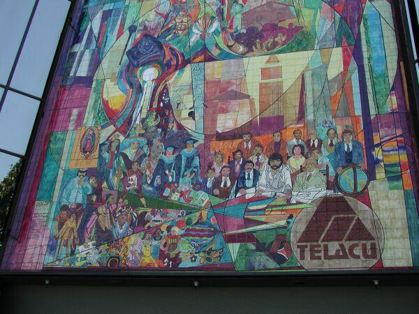 Orgullo de nuestra herencia mural for Mural nuestra carne